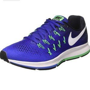 Nike Zoom Pegasus 33 concord/black/green size 13